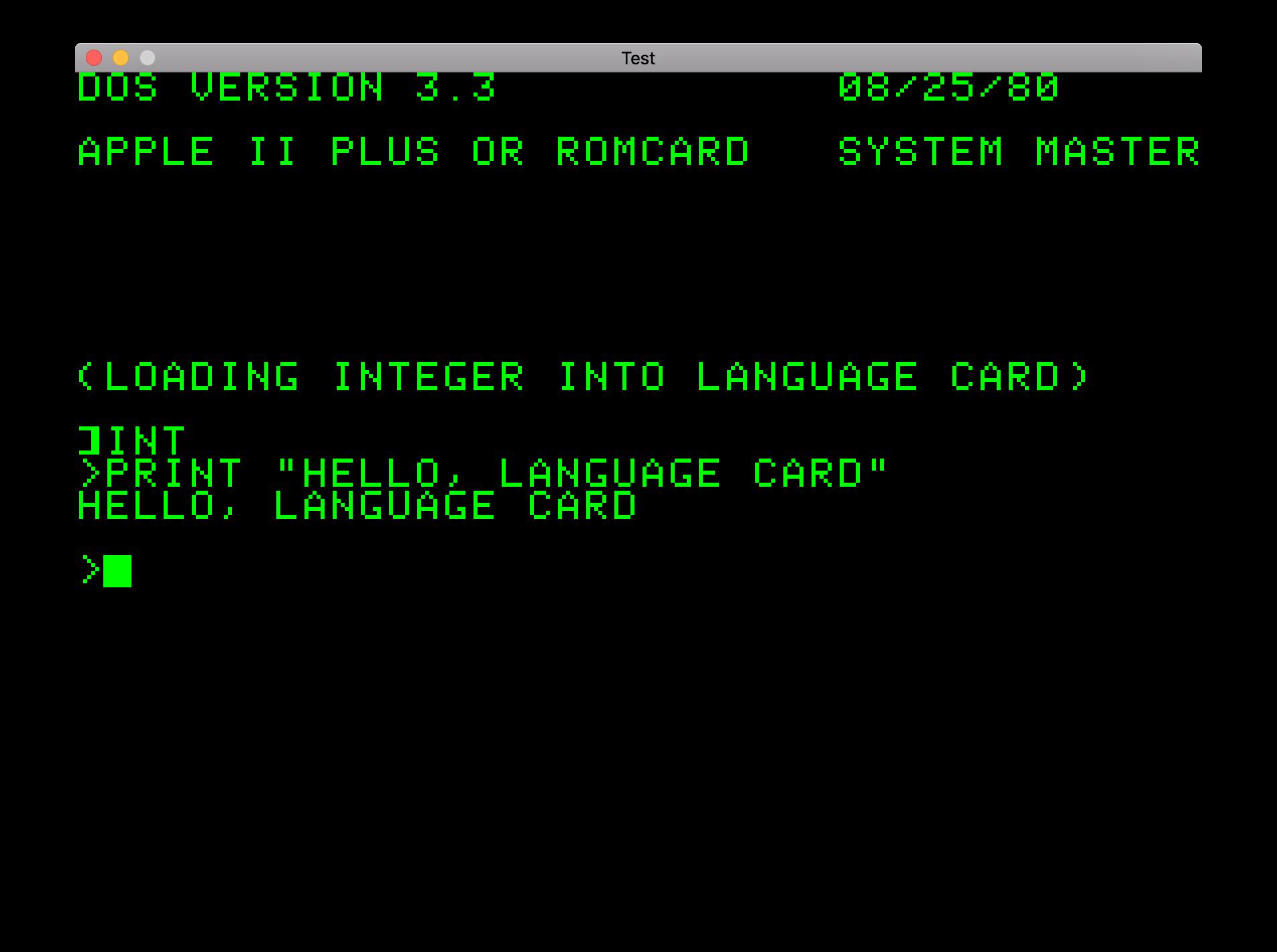 DOS 3.3 Booting